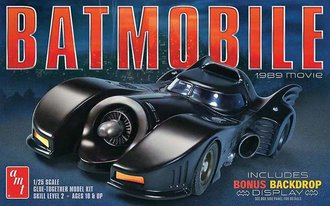 1:25 1989 Batman Batmobile (Model Kit)