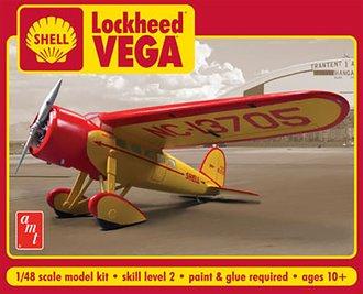 1:48 Shell Oil Lockheed Vega (Model Kit)