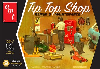 1:25 Garage Accessory Set #2 - Tip Top Shop Repair & Maintenance