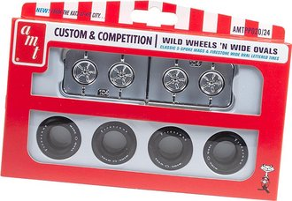 1:25 Custom & Competition - Wild Wheels 'n Wide Ovals Parts Pack