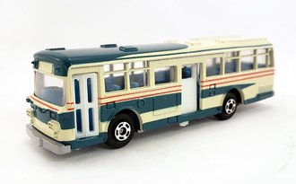 1:100 Hino RE120 Double Door Bus (Crème/Green)