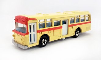 1:100 Hino RE120 Double Door Bus (Crème/Orange)