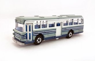 1:100 Hino RE120 Double Door Bus (Blue/White)