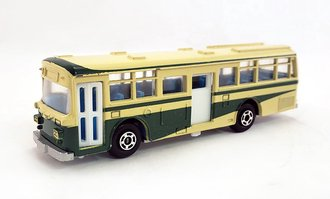 1:100 Hino RE120 Double Door Bus (Yellow/Green)