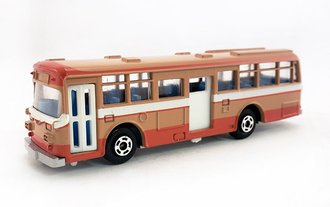 1:100 Hino RE120 Double Door Bus (Tan)