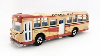 "1:100 Hino RE120 Double Door Bus ""Konan Bus"" (Tan)"