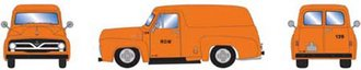"""1:87 1955 Ford F-100 Panel Truck """"MOW #129"""""""