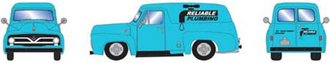 """1:87 1955 Ford F-100 Panel Truck """"Reliable Plumbing"""""""