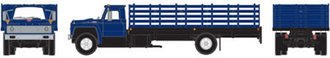 Ford F-850 Stakebed Truck (Blue)