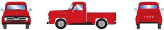 1955 Ford F-100 Pickup (Red)
