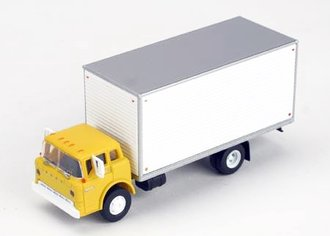 Ford C Box Van (Yellow)