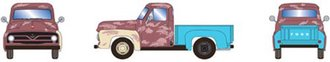 1:87 1955 Ford F-100 Pickup (Rusted)
