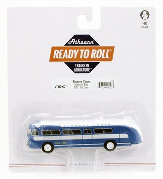 """Flxible Clipper Intercity Bus """"Pioneer Tours/On Tour #D73"""""""