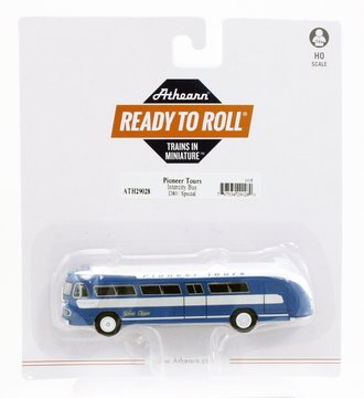 """Flxible Clipper Intercity Bus """"Pioneer Tours/Special #D80"""""""