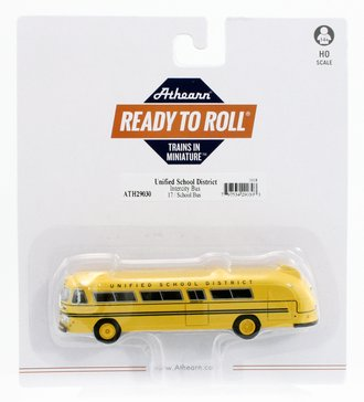 """Flxible Clipper Intercity Bus """"Unified School District #17"""""""