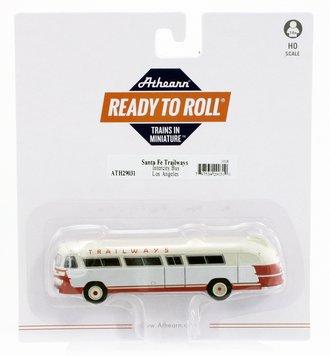 "Flxible Clipper Intercity Bus ""Santa Fe Trailways/LA #1"""