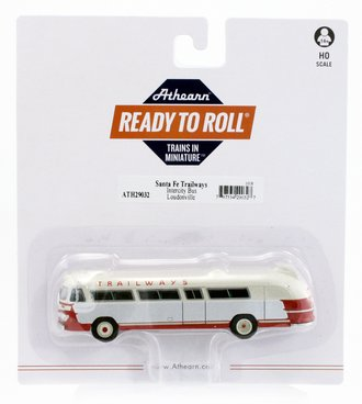 "Flxible Clipper Intercity Bus ""Santa Fe Trailways #2"""
