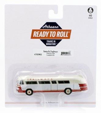 "Flxible Clipper Intercity Bus ""Santa Fe Trailways #2"""