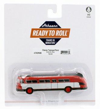 "Flxible Clipper Intercity Bus ""Glacier National Park"""
