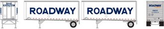 "28' Trailers w/Dolly ""Roadway/Smooth"" (2)"