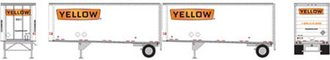 "28' Trailers w/Dolly ""Yellow #2"" (2)"