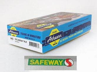 """Freightliner 40' Trailer """"Safeway"""" (Unassembled Kit)"""