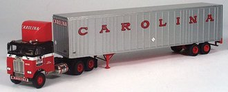"Freightliner COE w/48' Expost Trailer ""Carolina"""