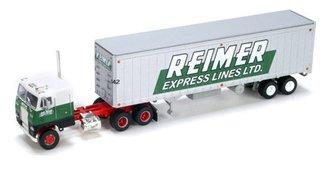 "Freightliner COE w/40' Dry Van Trailer ""Reimer Express"""