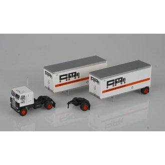"Freightliner COE w/40' Dry Van Trailer ""California Motor Express"""