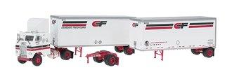 "Freightliner COE w/28' Double Pups ""Canadian Freightways"""