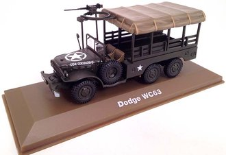 1:43 Dodge WC63 6x6 Covered w/Turret