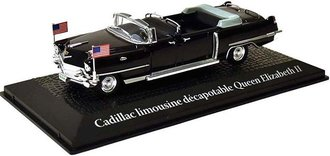 "1:43 Presidential Car - Cadillac Limousine Convertible ""Queen Elizabeth II, Dwight Eisenhower 1959"""