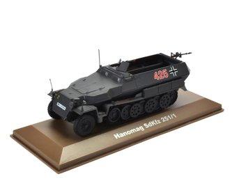 Hanomag SdKfz.251/1 German Half-Track (Gray)