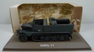SdKfz.11 German Half-Track (Gray)