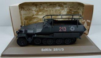 SdKfz.251/3 German Half-Track (Gray)