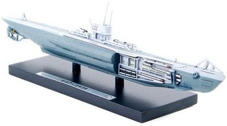 1:350 U-47 German Kriegsmarine Submarine, Type VIIB, 1939