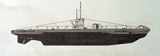 Type IIB Submarine U-9, Germany 1939