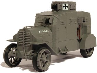 1:43 Ehrhardt Strassenpanzerwagen E-V/4 - German Army, World War I (Resin)