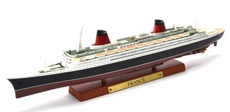1:1250 SS France Ocean Liner