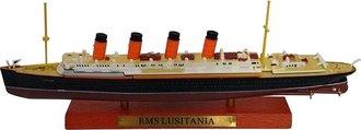 1:1250 RMS Lusitania Ocean Liner