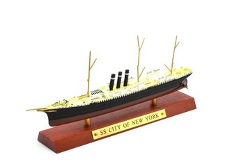 1:1250 SS City of New York Ocean Liner