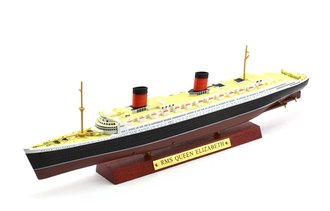 1:1250 RMS Queen Elizabeth Ocean Liner