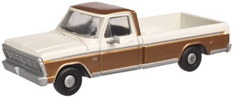 1:48 1973 Ford F-100 Pickup (Sequoia Brown/White)