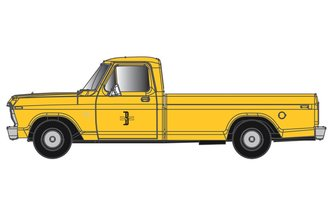 "1:48 1973 Ford F-100 Pickup ""Boston & Maine"" (Yellow)"