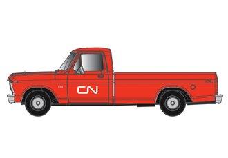 "1:48 1973 Ford F-100 Pickup ""Canadian National"" (Red/White)"