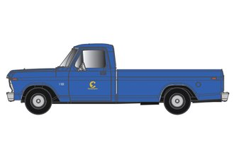 "1:48 1973 Ford F-100 Pickup ""Chessie System"" (Blue/Yellow)"