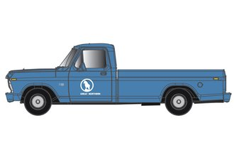 "1:48 1973 Ford F-100 Pickup ""Great Northern"" (Blue/White)"