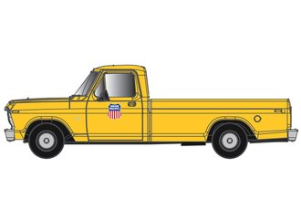 "1:48 1973 Ford F-100 Pickup ""Union Pacific"" (Yellow)"