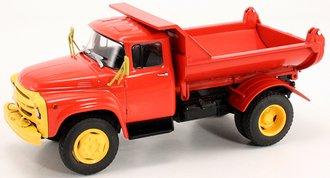 ZIL MMZ 555 Dump Truck (Red/Yellow)