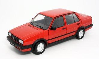 1:18 Volkswagen Jetta GT (Red) (Hubcap Style A)